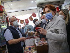 İYİ Parti Genel Başkanı Akşener Isparta'da gazetecilerin sorularını yanıtladı: