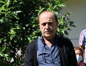 İzmir'de kentsel dönüşüm projelerinin engellendiğini öne süren grup basın açıklaması yaptı