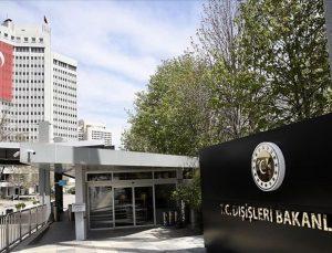 Türkiye'den Avrupa Parlamentosu'nun Türkiye raporuna tepki