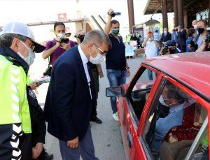 """Karabük Valisi Gürel """"tam kapanma"""" sürecini değerlendirdi:"""