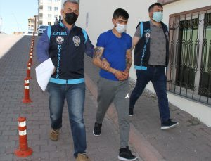 Kayseri'de 8 hırsızlık olayının şüphelisi yakalandı