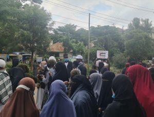 Kenyalılar, İsrail güçlerinin Mescid-i Aksa ve Gazze'ye saldırılarını protesto etti