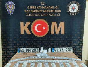 Kocaeli'de sahte 11 bin 400 dolar ele geçirilen operasyonda 2 şüpheli yakalandı