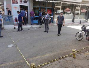 Manisa'da silahlı saldırıya uğraya esnaf ağır yaralandı