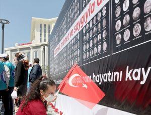 Memur-Sen 1 Mayıs Emek ve Dayanışma Günü programını Ankara Şehir Hastanesi'nde düzenledi