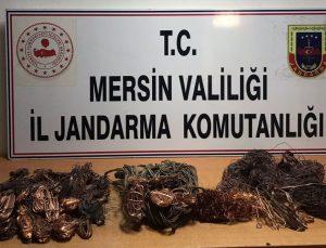 Mersin'de 3 elektrik trafosunun kablolarını çaldığı iddia edilen şüpheli tutuklandı