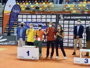 Milli para badmintoncular, İspanya'da biri altın, biri gümüş toplam 5 madalya kazandı