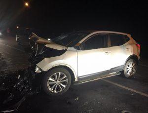 Muş'ta kamyonet ile otomobil çarpıştı: 1 ölü, 4 yaralı