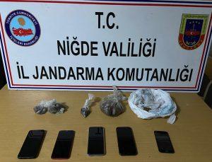 Niğde'de uyuşturucu operasyonu: 6 gözaltı