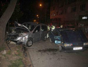 Ordu'da otomobil ile kamyonet çarpıştı: 4 yaralı