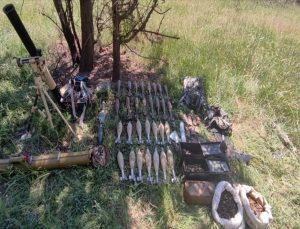 Pençe-Şimşek ve Pençe-Yıldırım operasyonlarında silah ve mühimmat ele geçirildi