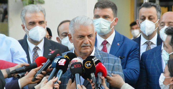 """AK Parti Genel Başkanvekili Binali Yıldırım:  """"Hukuki yoldan da hakkımızı arayacağız"""""""