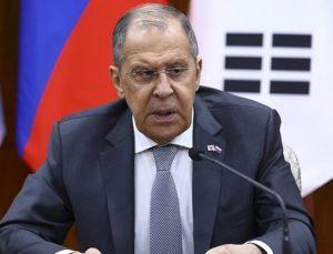 Rusya Dışişleri Bakanı Lavrov'dan AB açıklaması