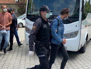 """Samsun'da FETÖ'nün """"mahrem askeri yapılanması""""na yönelik operasyonda yakalanan 14 zanlı adliyede"""