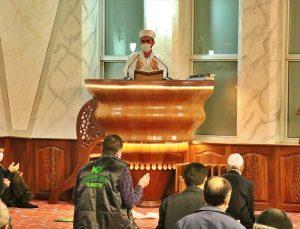 """Samsun'da hayata geçirilen program kapsamında okunan """"1071 Hatim""""in duası Kadir Gecesi'nde yapıldı"""