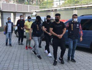 Samsun'da video oyunu oynayanların hesaplarını ele geçiren Irak uyruklu 4 kişi yakalandı