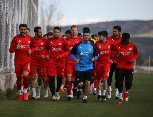 Sivasspor'da Gaziantep maçı hazırlıkları devam ediyor