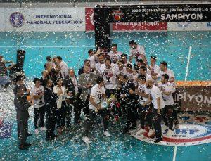 Spor Toto Hentbol Takımı, şampiyonluk kupasına kavuştu