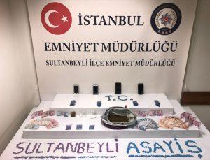 Sultanbeyli'de uyuşturucu operasyonunda 1 kişi tutuklandı