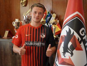 Süper Lig ekibi Gaziantep, 19 yaşındaki Ukraynalı Vladyslav Kobylianskyi ile 5 yıllık anlaştı