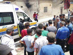 Suriye'nin Cerablus ilçesinde bombalı terör saldırısında 3 sivil hayatını kaybetti