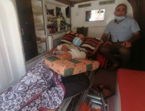 Tedavi için Mısır'a getirilen Gazzeli yaralılardan biri 5 yaşında