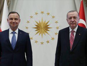 Cumhurbaşkanı Erdoğan, Polonya Cumhurbaşkanı Duda ile ortak basın toplantısında konuştu:
