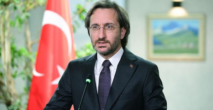 """Cumhurbaşkanlığı İletişim Başkanı Altun: """"Her kim devletimizin ciddiyetine halel getirmeyi amaçlarsa bedelini öder"""""""