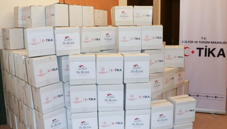 TİKA, KKTC'de 2 bin hijyen paketi dağıttı