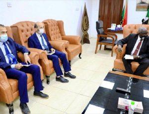 TİKA, Sudan Maliye Bakanlığı ile insani yardım çalışmalarında iş birliğini görüştü