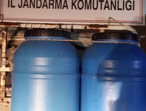 Turgutlu'da 360 litre kaçak şarap ele geçirildi