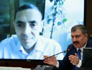 Sağlık Bakanı Koca ve Prof. Dr. Şahin, Koronavirüs Bilim Kurulu toplantısının ardından açıklama yaptı: