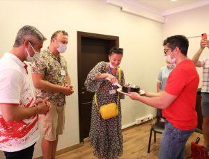 Ukrayna'dan gelen yöneticiler ve acente temsilcileri Marmaris'i gezdi