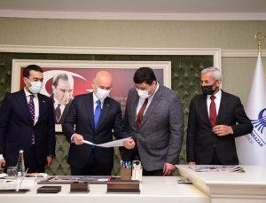Ulaştırma ve Altyapı Bakanı Karaismailoğlu'ndan, Kahramankazan Belediyesine ziyaret