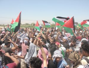 Ürdünlüler Filistin sınırında İsrail'in saldırılarını protesto etmeyi sürdürüyor