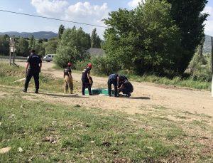 Uşak'ta sulama kanalına devrilen otomobildeki iki kardeş hayatını kaybetti