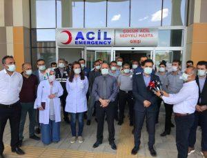 Van'da sağlık çalışanları ve güvenlik personelini darbeden kişi hakkında suç duyurusunda bulunuldu