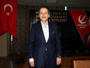 Yeniden Refah Partisi Genel Başkanı Erbakan, Antalya'da partisinin Milli Siyaset Akademisi programına katıldı:
