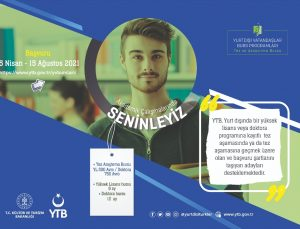 YTB'den yurt dışındaki vatandaşlar için 5 burs programı
