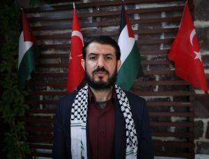 """YTB'nin """"Türkiye Bursları"""" ile eğitim alan Filistinli öğrenciler, İsrail'in saldırılarına tepkilerini paylaştı"""