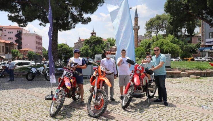 Türkiye Süper Enduro Şampiyonası Bergama'da başladı