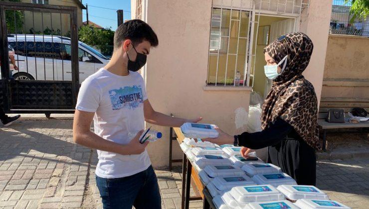 Bergama Belediyesi'nden öğrencilere sınav desteği