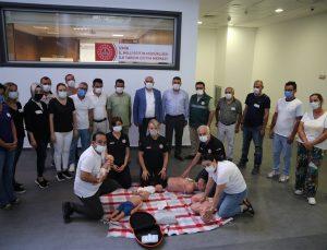 İzmir'de İlk Yardım Eğitimine Yoğun İlgi