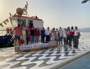 TMMOB İzmir İl Koordinasyon Kurulu tarafından 1 Temmuz Denizcilik ve Kabotaj Bayramı dolayısıyla geleneksel olarak her yıl düzenlenen Karton Tekneler Yarışı 13. yılında pandemi koşulları nedeni ile sembolik olarak gerçekleştirildi.