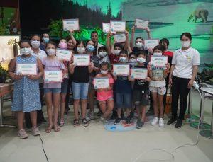 Öğrenciler sertifikalarını aldı