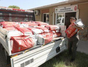 Gaziemir'den Manavgat'taki can dostlar için yardım eli