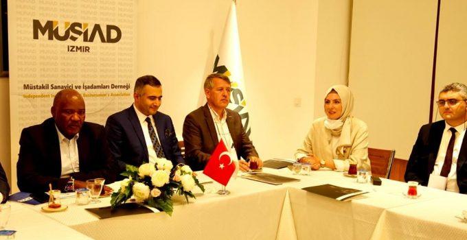 MÜSİAD İzmir'de Kenya İle Ticaret Konuşuldu