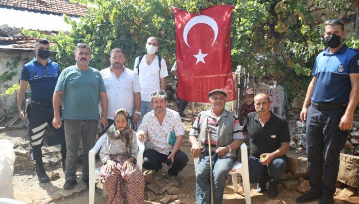 Orman Şehidi Erdal Tovka'nın baba ocağı onarılmaya başlandı