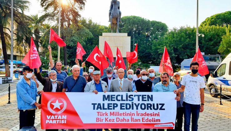 TBMM'de çözüm söylemi PKK'yı kurtarmak içindir!