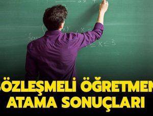 20 Bin Sözleşmeli Öğretmen Atama Sonuçları Açıklandı! İşte MEB Sorgulama Ekranı